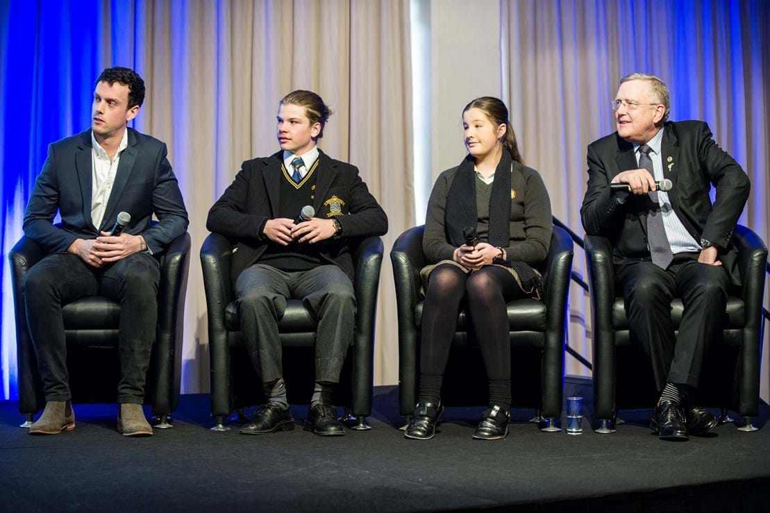 2015 walkers panel; Adam Briscoe; Callum Trainor; Samantha Ryan; Michael Stillwell, Stillwell Motor Group